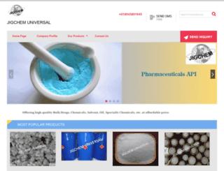 jigchemuniversal.com screenshot