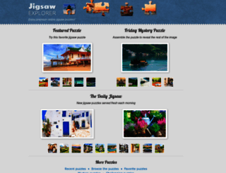 jigsawexplorer.com screenshot