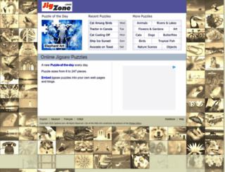 jigzone.com screenshot
