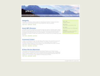 jiisoft.com screenshot