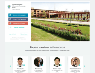 jiit.almaconnect.com screenshot