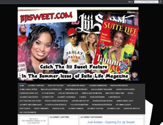 jijisweet.ning.com screenshot
