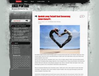 jikapintar.wordpress.com screenshot