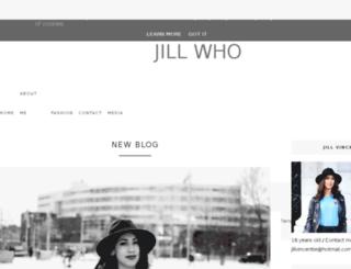 jill-who.blogspot.nl screenshot