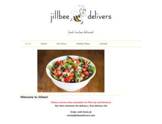 jillbeedelivers.com screenshot