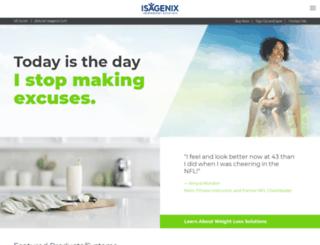 jillduran.isagenix.com screenshot