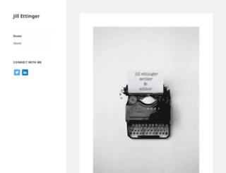 jillettinger.com screenshot