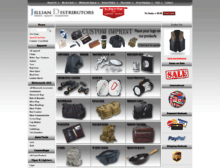 jilliandistributors.com screenshot