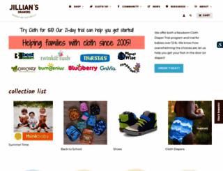 jilliansdrawers.com screenshot