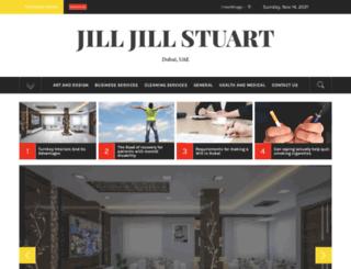 jilljillstuart.com screenshot