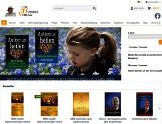jim-humble-verlag.com screenshot