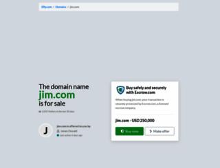 jim.com screenshot