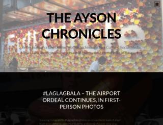 jimayson.wordpress.com screenshot