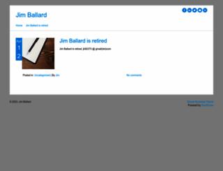 jimballard.com screenshot