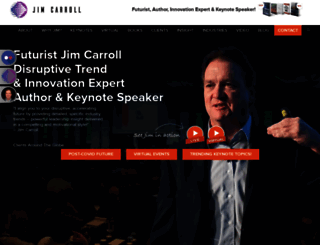 jimcarroll.com screenshot