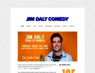 jimdalycomedy.wordpress.com screenshot