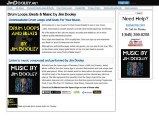jimdooley.net screenshot