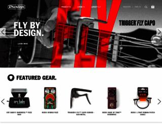 jimdunlop.com screenshot