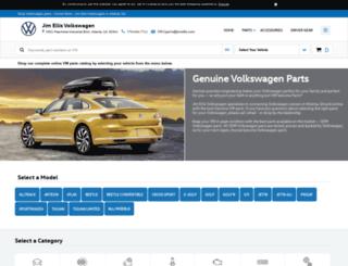 jimellisvwparts.com screenshot
