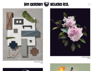 jimgoldenstudio.com screenshot