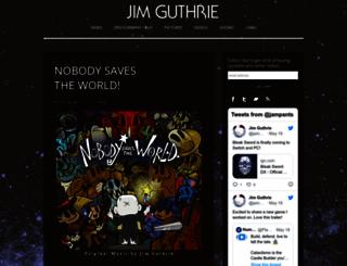 jimguthrie.org screenshot