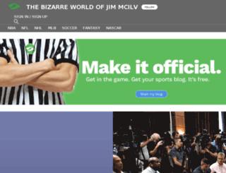 jimmcilvaine.sportsblog.com screenshot