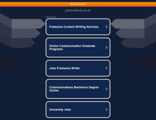 jimmurdoch.co.uk screenshot