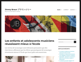 jimmybraun.com screenshot