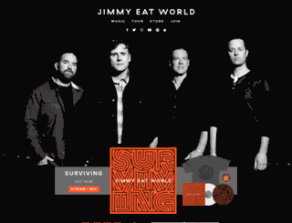 jimmyeatworld.com screenshot