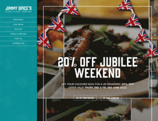 jimmyspices.co.uk screenshot