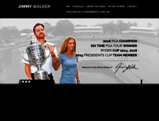 jimmywalkergolf.com screenshot
