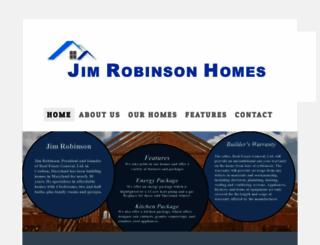 jimrobinsonhomes.com screenshot