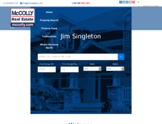 jimsingleton.mccolly.com screenshot