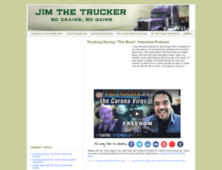 jimthetrucker.com screenshot