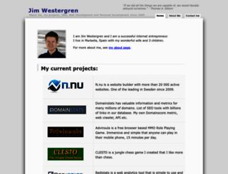 jimwestergren.com screenshot