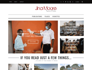 jinamoore.com screenshot