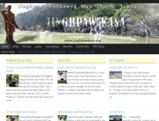 jinghpawkasa.org screenshot