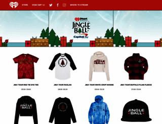 jingleball.merchdirect.com screenshot