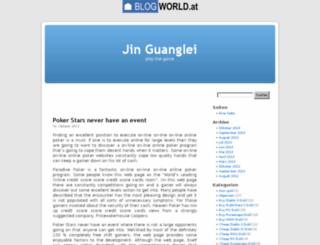 jinguanglei1989.blogworld.at screenshot