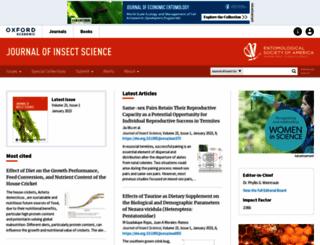 jinsectscience.oxfordjournals.org screenshot