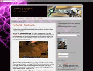 jinxedthought.blogspot.com screenshot
