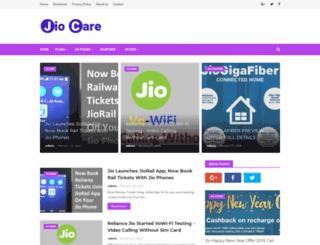 jio-care.com screenshot