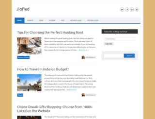 jiofied.com screenshot