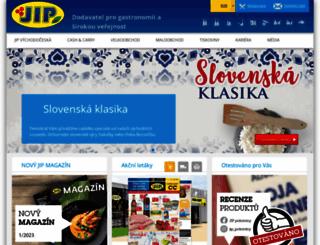 jip-napoje.cz screenshot