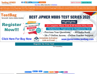 jipmermbbs.testbag.com screenshot