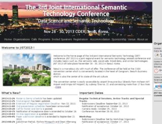jist2013.org screenshot