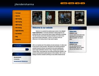 jitendersharma3.webnode.in screenshot