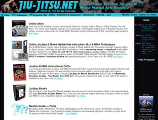 jiu-jitsu.net screenshot