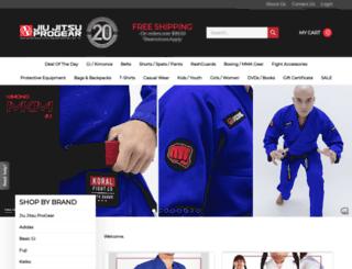 jiujitsuprogear.com screenshot