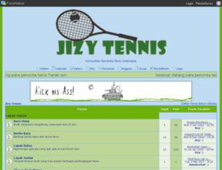 jizytennis.the-talk.net screenshot